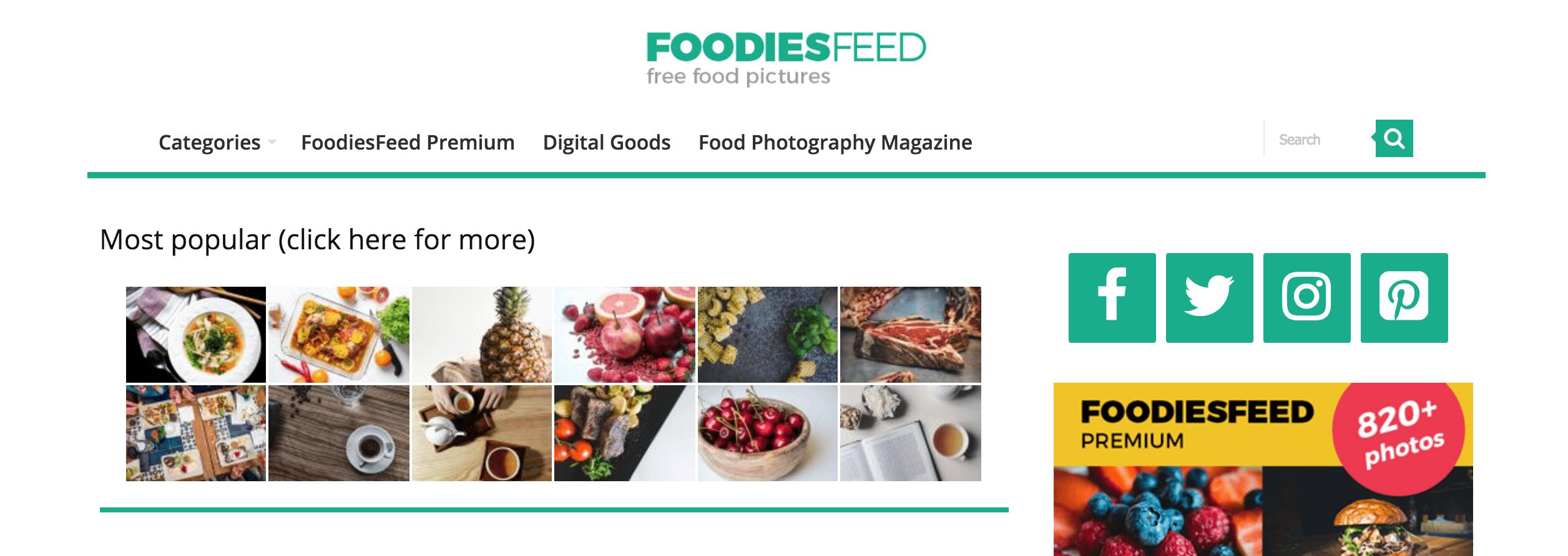 foodiesfeed free images