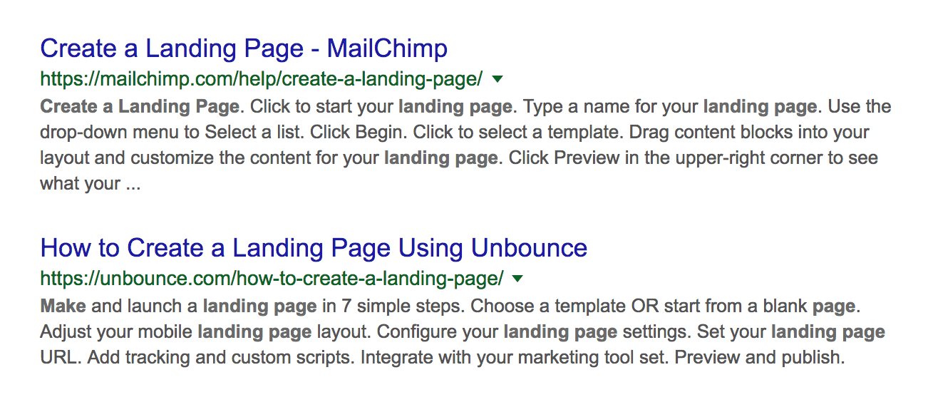 saas product marketing - how to create a landing page