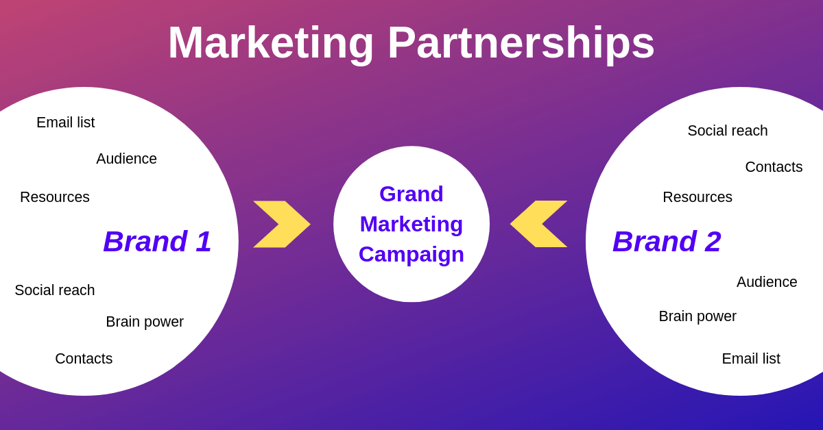 shopify app marketing - marketing partnerships